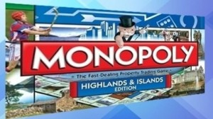 Monopoly Inverness game, Highlands and Islands edition