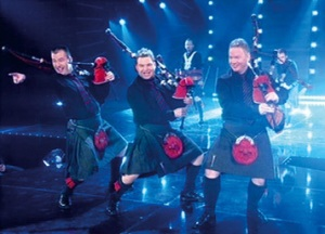 Red Hot Chili Pipers at Hogmanay Inverness