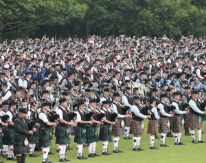 European Pipe Band Championships Forres